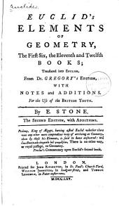Euclid's Elements of Geometry: The First Six, the Eleventh and Twelfth Books