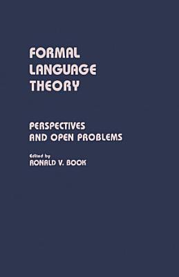 Formal Language Theory