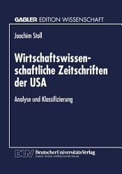 Wirtschaftswissenschaftliche Zeitschriften der USA PDF