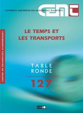 Tables Rondes CEMT Le temps et les transports