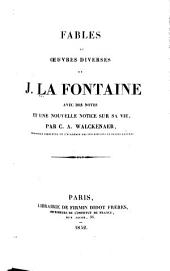 Fables et oeuvres diverses de J. LaFontaine