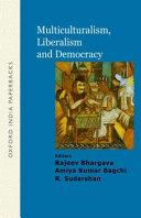Multiculturalism  Liberalism and Democracy PDF