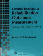 Essential Readings in Rehabilitation Outcomes Measurement PDF