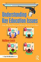 Understanding Key Education Issues PDF