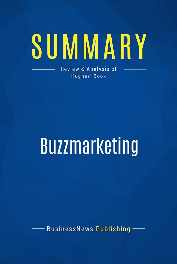 Summary: Buzzmarketing
