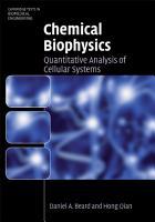 Chemical Biophysics PDF
