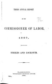 Annual Report of the Commissioner of Labor: Volume 3