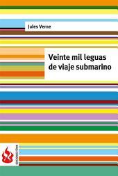 veinte mil leguas de viaje submarino (low cost). Edición limitada