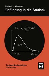 Einführung in die Statistik: Ausgabe 2