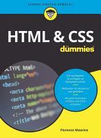 HTML und CSS f  r Dummies PDF