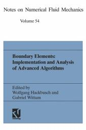 Boundary Elements: Implementation and Analysis of Advanced Algorithms: Proceedings of the Twelfth GAMM-Seminar Kiel, January 19–21, 1996