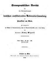 Stenographischer Bericht   ber die Verhandlungen der deutschen constituirenden Nationalversammlung zu Frankfurt am Main  herausg  von F  Wigard PDF
