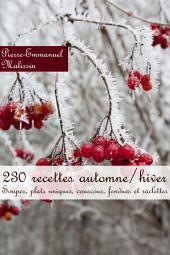 230 recettes automne/hiver