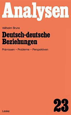 Deutsch deutsche Beziehungen PDF