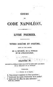 Cours de Code Napoléon: Volume8