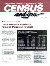 Census and you: monthly news from the U.S. Bureau of the Census, Volume 31, Issues 1-2