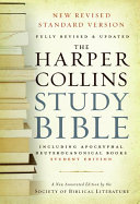 HarperCollins Study Bible   Student Edition