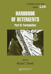 Handbook of Detergents - 6 Volume Set