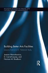 Building Better Arts Facilities Book PDF