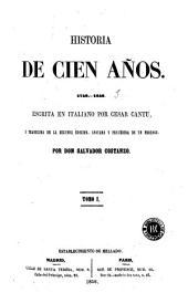 Historia de cien años: 1750-1850