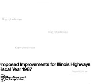 Proposed Improvements for Illinois Highways PDF