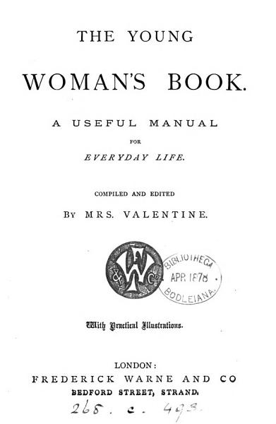 Download The young woman s book  a useful manual for everyday life Book