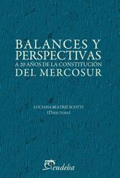 Balances y perspectivas a 20 años de la Constitución del Mercosur