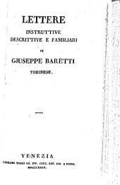 Lettere instruttive descrittive e familiari
