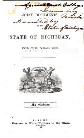 Joint Documents of the State of Michigan