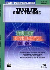 Student Instrumental Course: Tunes for Oboe Technic, Level I