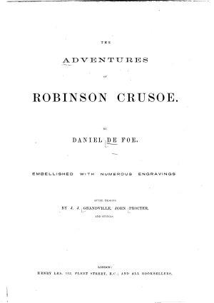 The adventures of Robinson Crusoe PDF