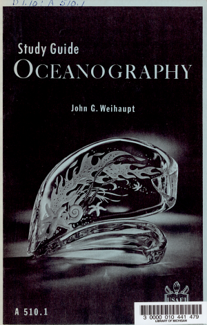 A Study Guide to be Used with USAFI Course A 510  Oceanography  1966 PDF
