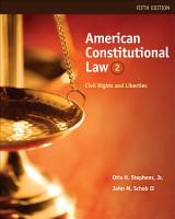 American Constitutional Law  Civil Rights and Liberties PDF
