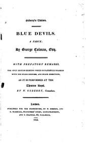 Blue Devils: A Farce