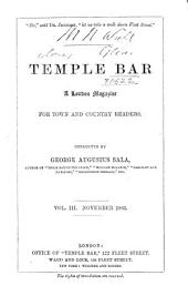 Temple Bar: Volume 3