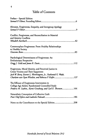 Humboldt Journal of Social Relations
