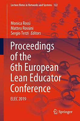 Proceedings of the 6th European Lean Educator Conference PDF