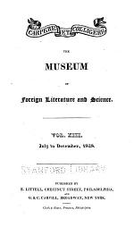The Museum of Foreign Literature, Science, and Art