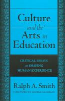 Culture and the Arts in Education PDF