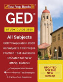 GED Study Guide 2020 All Subjects  GED Preparation 2020 All Subjects Test Prep   Practice Test Questions  Updated for NEW Official Outline