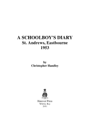 A Schoolboy S Diary Book PDF