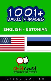 1001+ Basic Phrases English - Estonian