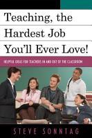 Teaching  the Hardest Job You ll Ever Love PDF
