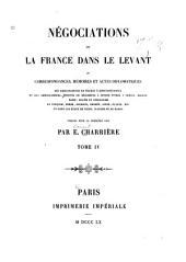 Négociations de la France dans le Levant: 1581-1589