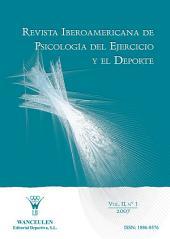 Revista Iberoamericana de Psicología del Ejercicio y el Deporte VOL. II Nº 1