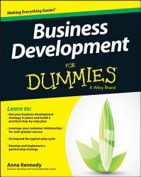 Business Development For Dummies Book PDF