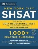 New York City Shsat PDF