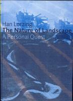 The Nature of Landscape PDF