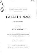 Twelfth mass  in vocal score PDF
