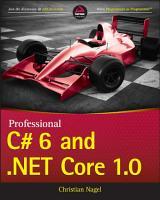 Professional C  6 and  NET Core 1 0 PDF